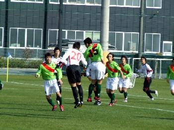10 Feb 07 - Honda FC clash with FC Kariya