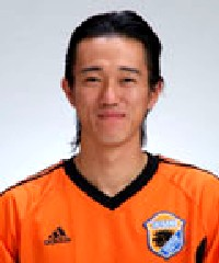 10 Jun 06 - Ayuta Kamezaki, scorer of Okinawa Kariyushi's late winner v Kaiho Bank SC