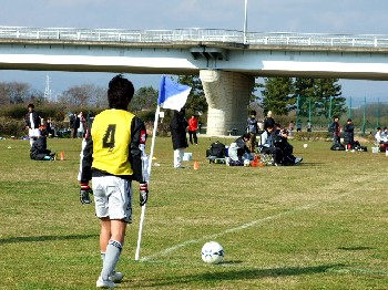 11 Feb 07 - A romantic scene from FC Gifu against Zweigen Kanazawa