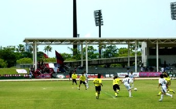 11 Jun 06 - Hitachi in yellow clash with Fagiano