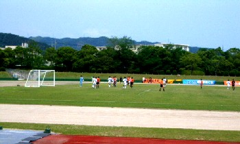 11 Jun 06 - A somewhat distant view of Renofa against Iwami