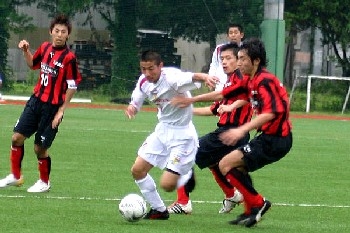 11 Jun 06 - Toshiba Fuchu earn their stripes against Luminozo