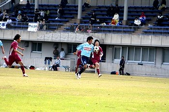 12 Jan 07 - Ogaki FC Kogans take on C'est La Vie in the Gifu Prefectural League