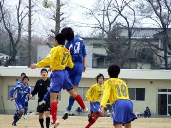 14 Mar 06 - Tochigi SC in yellow against Sagawa Kyubin Tokyo