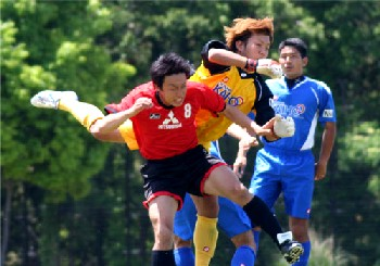 14 May 07 - Kaiho Bank clash with Mitsubishi Nagasaki