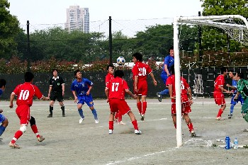 14 May 07 - Toho Titanium defend against league leaders Machida Zelvia