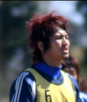 16 Apr 07 - Shota Hirata, Mitsubishi Heavy Industries' scorer in the derby match