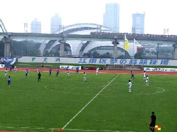 16 Jul 06 - A somewhat misty view of the Sagawa Kyubin derby