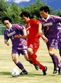 16 Jul 07 - Shizuoka FC take on a Yamanashi Prefectural XI
