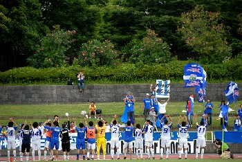 17 Jun 07 - Celebration time for Machida Zelvia at YSCC