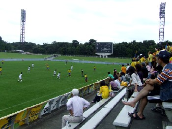 17 Sep 06 - Tochigi in yellow host Kyushu's Saga University