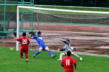 18 Jun 06 - Yuya Itabashi scores for Luminozo Sayama against Hanno Bruder