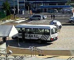 18 Oct 06 - You know you want to see it - the Shizuoka FC team bus