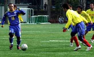 19 Feb 06 - Ikuma Noiri of Yokogawa Musashino vs Tochigi SC