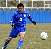19 Feb 07 - Nakaniida Club's 43-year-old Toshiharu Kumagai