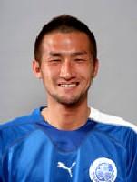 20 Feb 06 - Taijiro Kurita, newly-arrived at FC Ryukyu