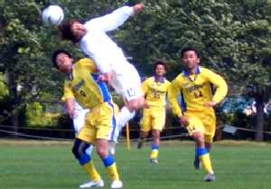 20 May 07 - NEC Tokin win the header but lose the match against Furukawa Battery