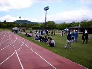 20 May 07 - The white hot pre-match atmosphere at FC Perada Fukushima