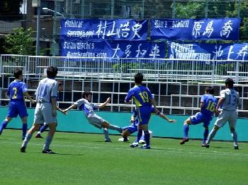 20 May 07 - Yokogawa Musashino in blue get the better of YKK AP
