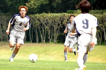 20 Nov 06 - Nippon Steel Oita. There are only three of them in the whole team