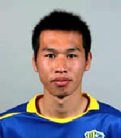 21 Mar 06 - Yokogawa Musashino midfielder Yasuo Katayama