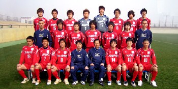 21 May 06 - Sanyo Electric Sumoto's first team squad for 2006, 7-2 winners over Takada FC