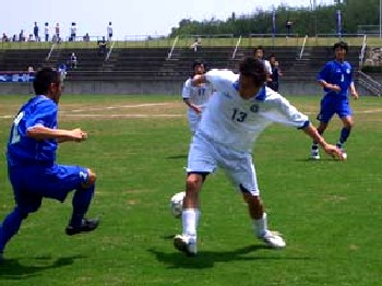 21 May 06 - Ventana AC in white clash with Tokushima Vortis Amateur