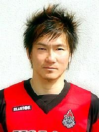 21 May 06 - Shinichi Fujita, scorer for Volca Kagoshima against Nippon Steel