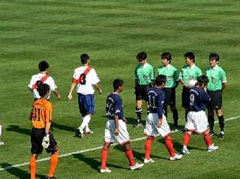21 Oct 06 - FC Kariya and Sagawa Printing prepare to do battle