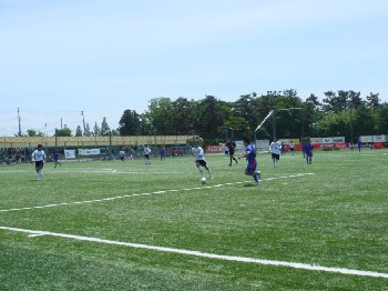 22 Jun 07 - Granscena Niigata on the attack against FC Antelope