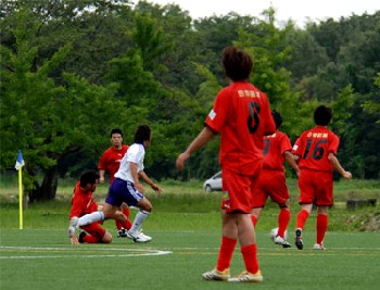 22 Jun 07 - Morishin's in red get their first win of the year against Rampole