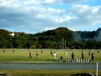 22 Nov 05 - Fagiano Okayama take on Nangoku Kochi