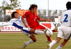 22 Oct 06 - Honda Lock battle their way to victory over Sagawa Osaka