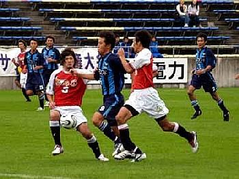 22 Sep 06 - Mitsubishi Mizushima actually win a game