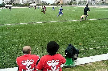 23 Apr 06 - Nanakuma Tombies, Osumi NIFS and a linesman all run around
