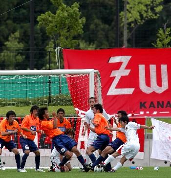 23 Jul 06 - Zweigen Kanazawa put Nagano Elsa under pressure
