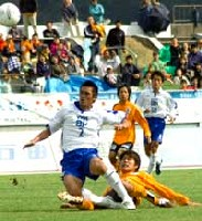 23 Oct 05 - Ehime FC vs YKK AP
