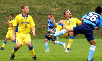 24 Jun 07 - Acrobatics between FC Primeiro and Furukawa Battery
