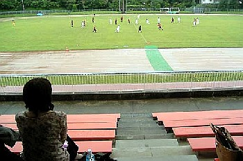 25 Jun 06 - FC Central in their vital Chugoku League clash with Sagawa Kyubin