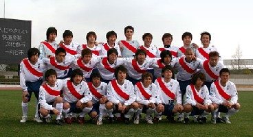 27 Mar 06 - FC Kariya prepare to have the smiles wiped off their faces