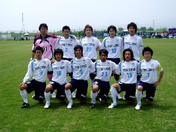 27 May 07 - Kamatamare Sanuki before their clash with Nangoku Kochi