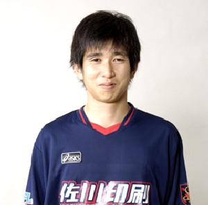 28 Oct 06 - Ex-Gamba Youth player Junichiro Azuma, scorer for Sagawa Printing
