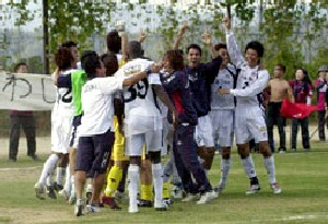 29 Oct 06 - Kowabunga! A first-ever Chugoku Leaguw in for Fagiano