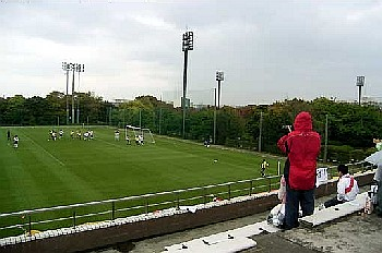 29 Apr 06 - JEF Club v FC Kariya in the rain