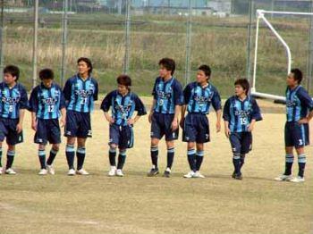 29 Apr 07 - FC Primeiro of Fukushima, 1-0 winners over Morioka Zebra