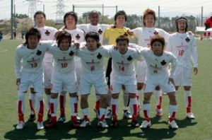 29 Apr 07 - Zweigen Kanazawa before their defeat to JSC
