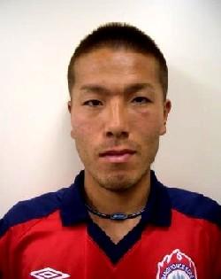 30 Apr 06 - Rysouke Tanzaki, scorer of Banditonce Kobe's opener against Takada FC
