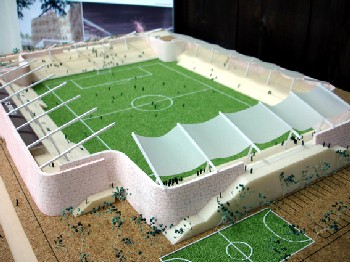 30 Aug 06 - FC Ryukyu's proposed football-only stadium