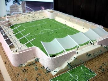 30 Aug 06 - FC Ryukyu's proposed football-only stadium