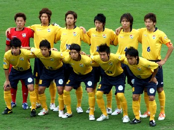 30 Jun 07 - In-form JEF Reserves before their match with Sony Sendai